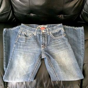 Request Blue Straight Leg Jeans WP1